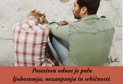 ljubosumje in posesivnost v odnosu