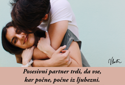 ljubosumni in posesivni partner