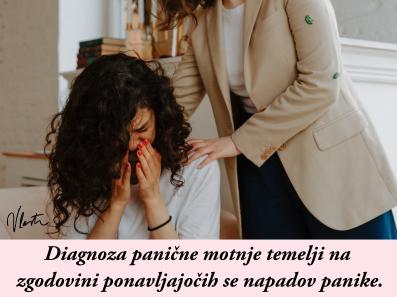 kako premagati panično motnjo