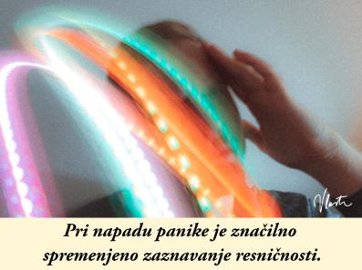 spremenjeno zaznavanje resničnosti