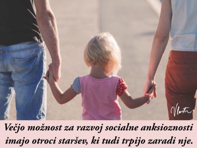 socialna anksioznost v družini